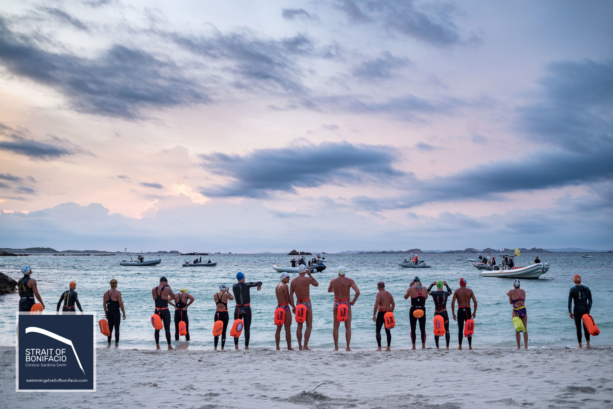 Strait of Bonifacio Swim Crossing 2019